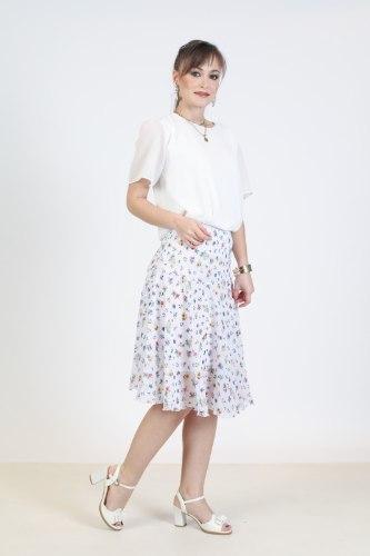 חצאית שיפון