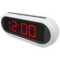 רדיו שעון מעורר דיגיטלי PURE ACOUSTICS RD45 לבן