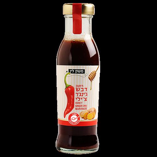 🔍 משק לין – רוטב ג'ינג'ר צ'ילי עם דבש – 320 גרם