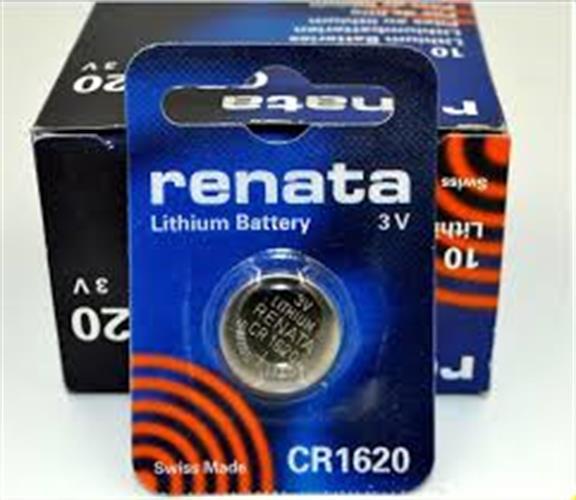 סוללות ליטיום 5 יחידות RENATA LITHIUM CR1620