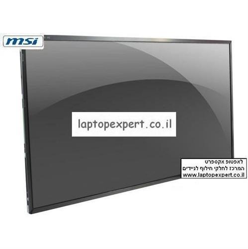 """מסך להחלפה במחשב נייד MSI CR500 Laptop LCD Screen 15.6"""" WXGA HD LED"""