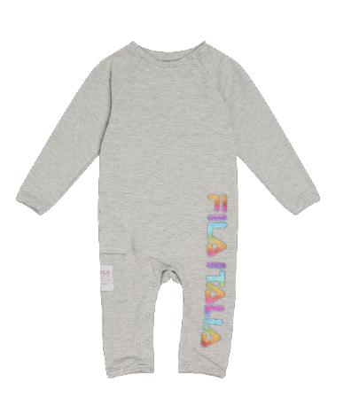 אוברול אפור תינוקות שרוול ארוך FILA