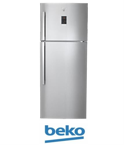 beko מקרר מקפיא עליון 505 ליטר דגם: DN156821X