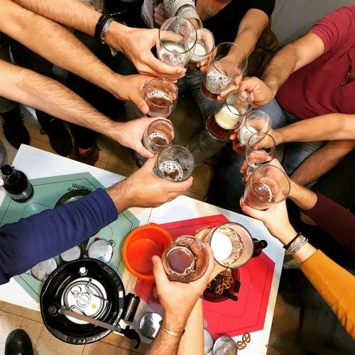סדנת בירה במבשלת בוטיק בתל אביב