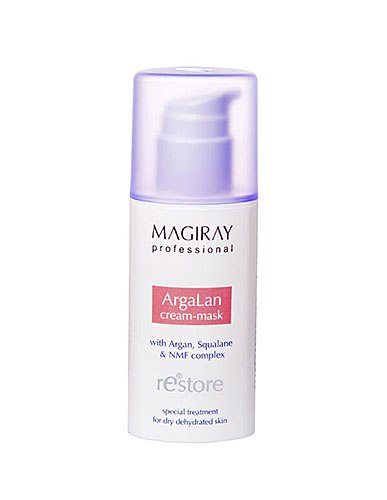 מסכת קרם הזנה לעור מיובש - Magiray Restore ArgaLan Cream-mask