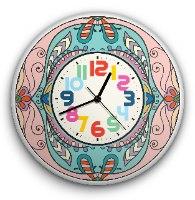 שעון קיר מעוצב, זכוכית אקרילית, דגם 2021  TIVA DESIGN