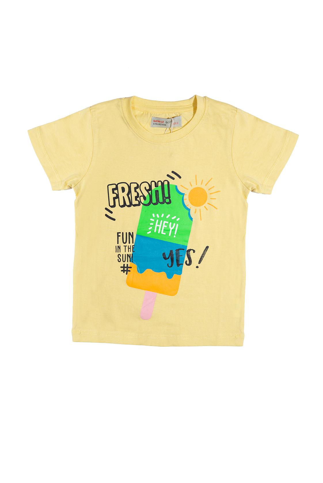 חולצת ארטיק צהובה