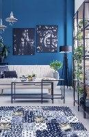 שטיח פי.וי.סי בלוז TIVA DESIGN קיים בגדלים שונים