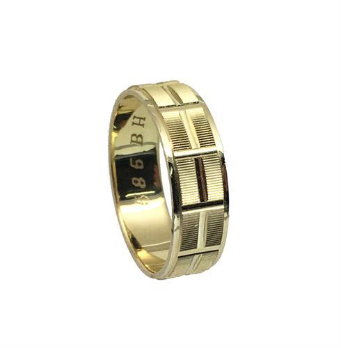 טבעת נישואין נשים \ גברים זהב 14 קארט MY08160066366