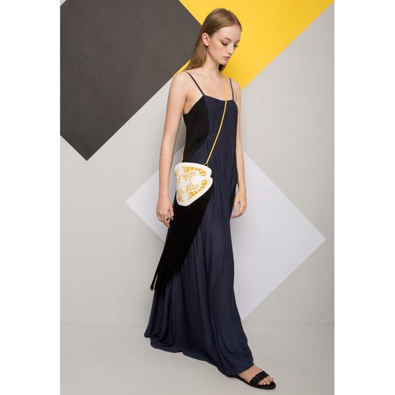 שמלת מלודי כחול כהה