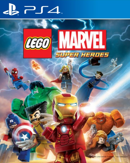 PS4 LEGO Marvel Super Heroes