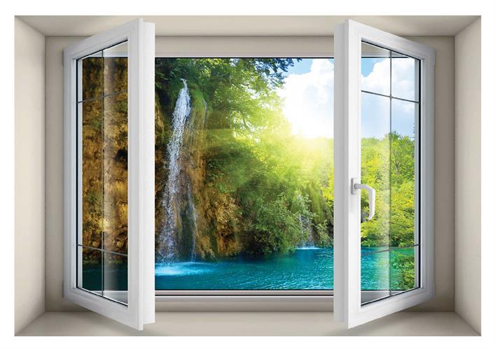 חלון בנישה דגם 5018