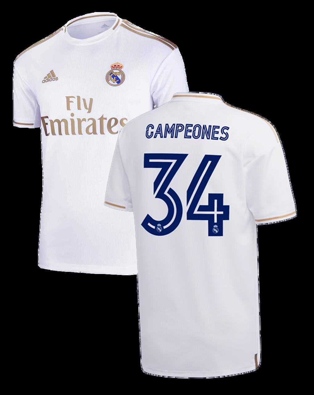 חולצת האליפות המיוחדת ריאל מדריד