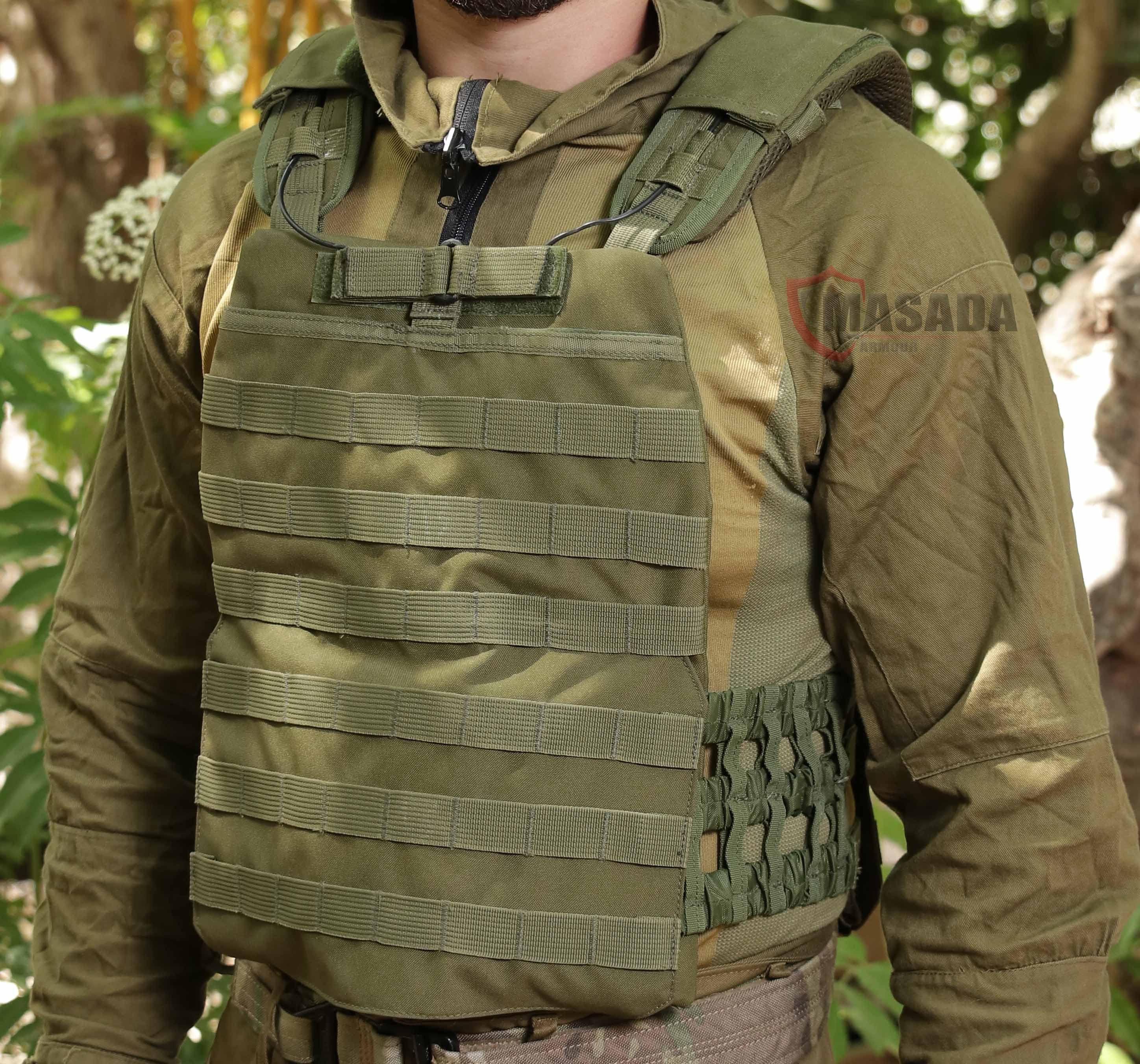 Ultra light plate carrier-quick release