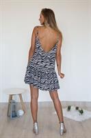 שמלת סאמר זברה