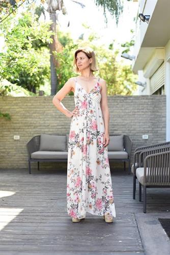 שמלה פירחונית