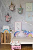 חבילת עיצוב לחדר חד קרן ורוד