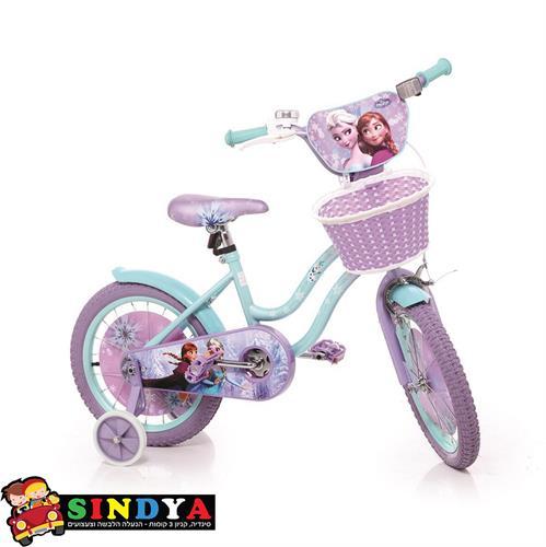 """אופניים 12"""" אנה ואלזה FROZEN2"""