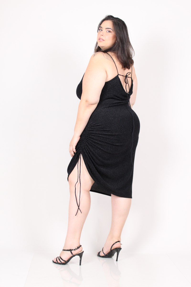 שמלת ריין לורקס שחור