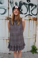 שמלת גילי וולן משבצות