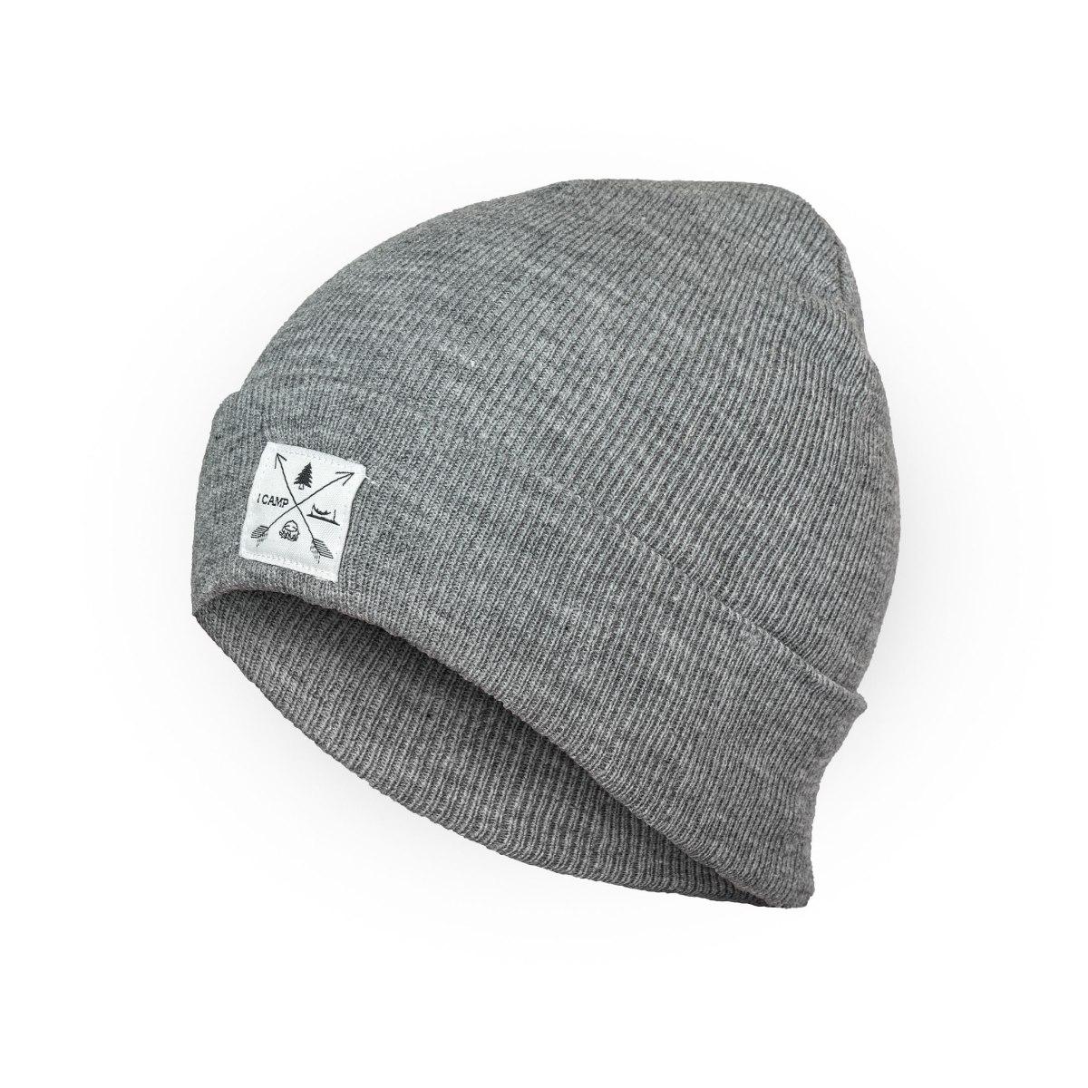 כובע חורף I CAMP - אפור