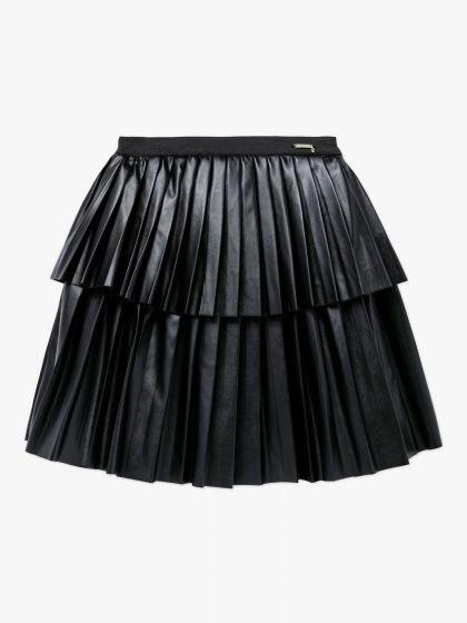 חצאית דמוי עור קומות GUESS בנות - 3 חודשים עד 7 שנים