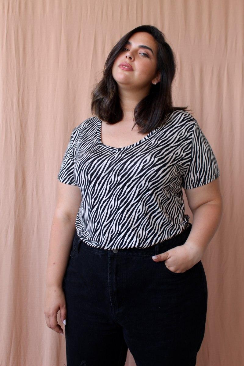 חולצת T SHIRT בילי זברה