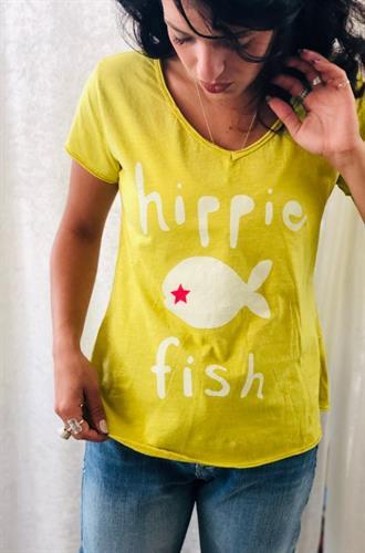 חולצת HIPPIE FISH