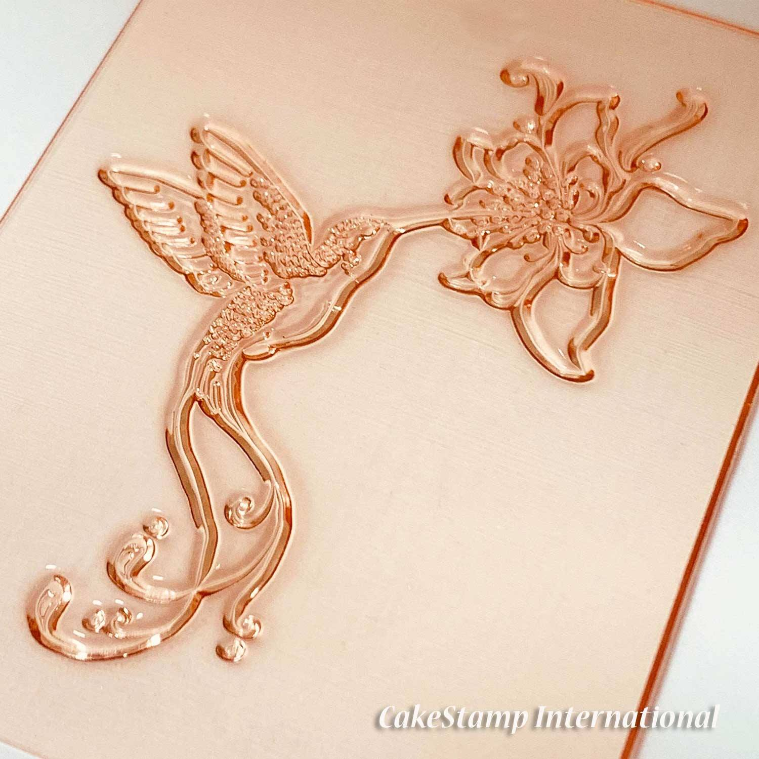 Hummingbird stamp-  Big