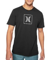 HURLEY Dri-Fit ICON BOX RFLCT SS
