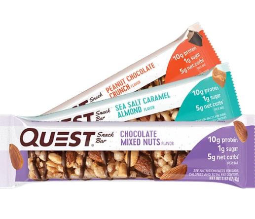 Quest Protein Snack Bar|חדש חטיף אגוזים מיקס במגוון טעמים 1 יח כשר