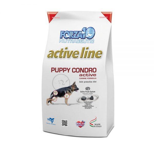 """מזון לכלבים פורזה CONDRO גור 10 ק""""ג"""