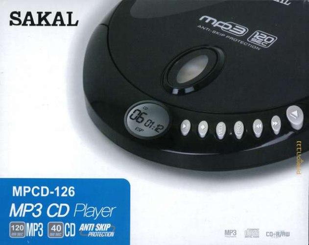 דיסקמן SAKAL MPCD-126