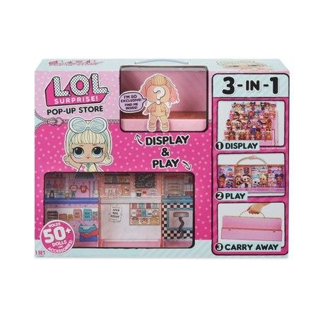 בית לאיסוף בובות לול LOL  שלוש ב- אחד