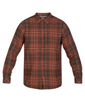 HURLEY M VEDDER WASHED L/S WOVEN