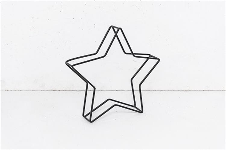 כוכב ברזל בינוני שחור