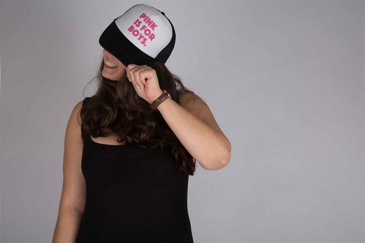 כובע יוניסקס Pink is for boys