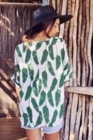 חולצת איימי אוברסייז הדפסים