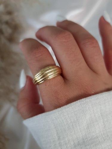טבעת זהב מיילי
