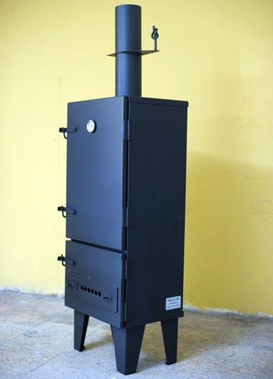 מעשנת פחמים במבנה ארון בייצור אישי- דגם 5040