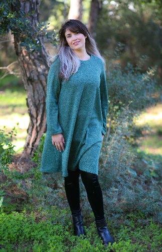 שמלת לילך ירוקה