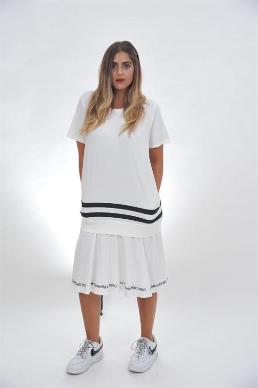 שמלת חופש לבנה ONE SIZE