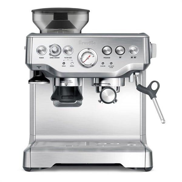 מכונת קפה עם מטחנה BREVILLE BES870/A חדש מתצוגה