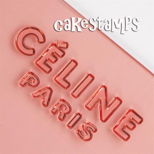 חותמת לוגו - CELINE