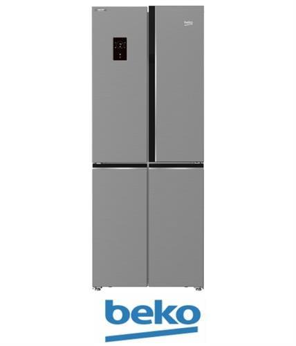 Beko מקרר 4 דלתות דגם GNE487E20ZXP