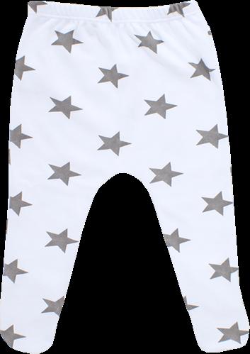 רגליות בהדפס כוכבים גדולים