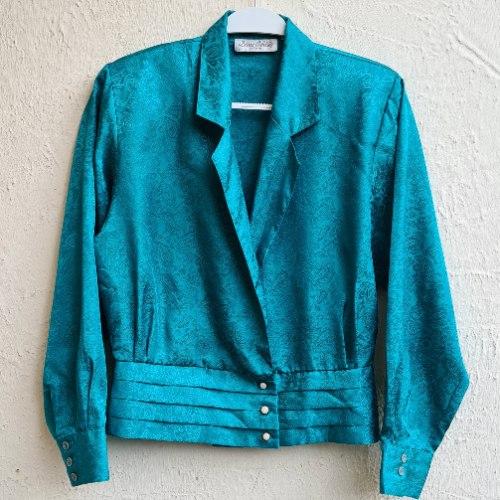 חולצת אייטיז ירוקה מושלמת S/M