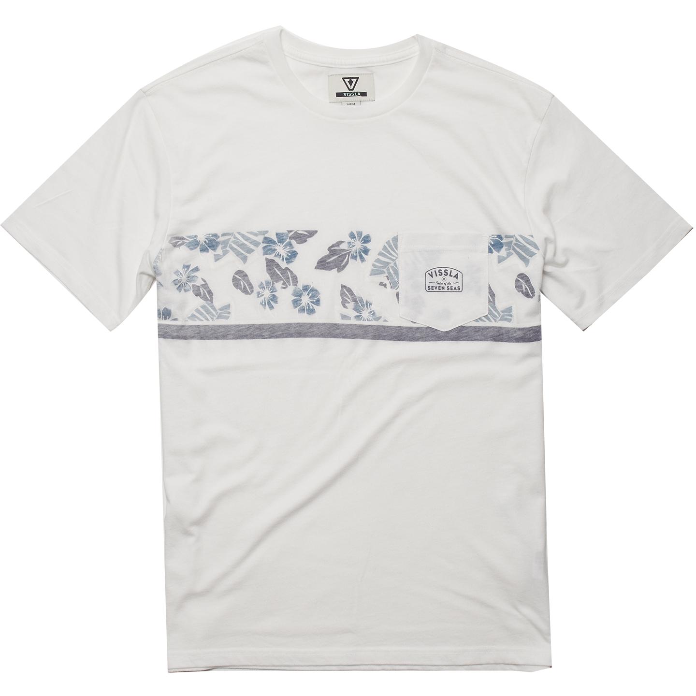 Vissla Kalakaua Knit Tee Vintage White