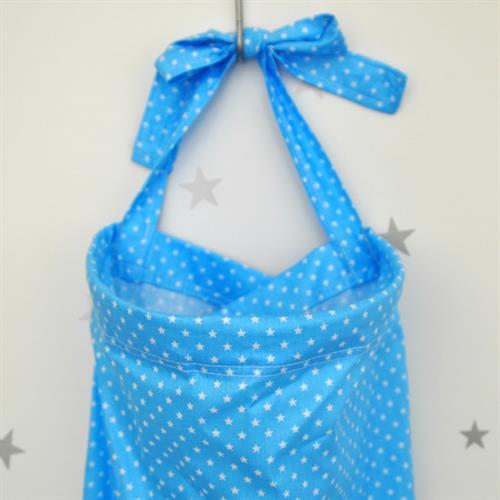 סינר הנקה כחול כוכבים
