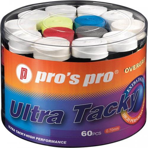 חבילת גריפים Pro's Pro Super Tacky Tape 60 pack mix